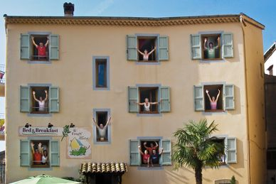 Französisches Flair im Yoga Center The Frog'S House Frankreich