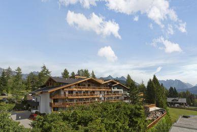 Alpine Yoga Ayurveda Auszeit im Natur & Spa Hotel Lärchenhof****