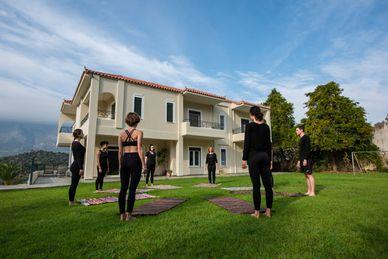 Golden Class Workshop in der Yoga Skyros Academy Griechenland