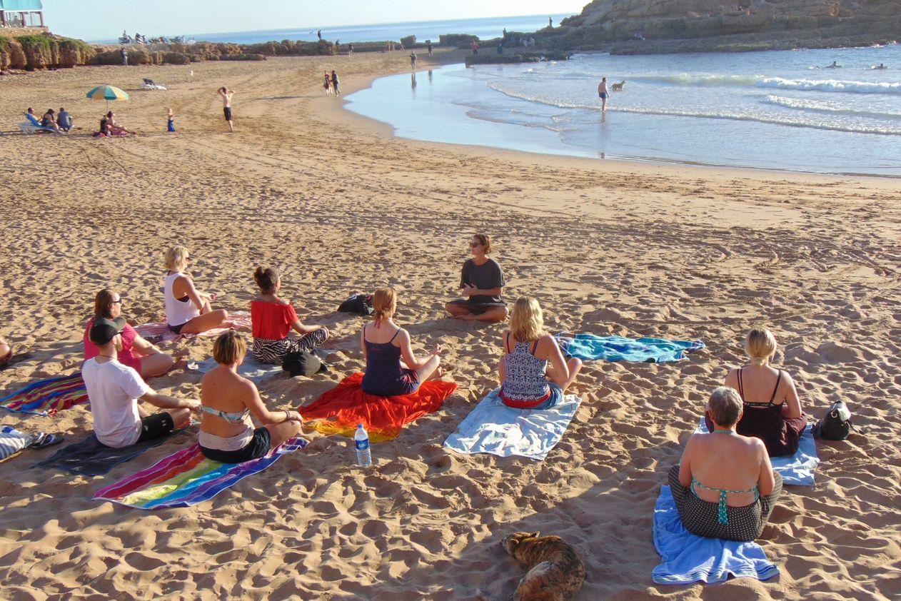 8 Tage Yoga & Surfen im Original Surf Camp Marokko (Anreise jederzeit möglich)